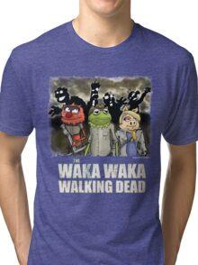 The Waka Waka Walking Dead Tri-blend T-Shirt