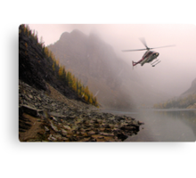 Fly Low, Stay Straight Metal Print