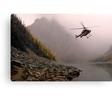 Fly Low, Stay Straight Canvas Print