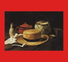 Still-Life with Yellow Straw Hat One Piece - Short Sleeve