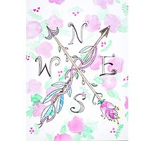 ARROW GYPSY COMPASS Photographic Print