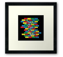 Brick in the Wall Framed Print