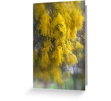 Loaded with Wattle Greeting Card