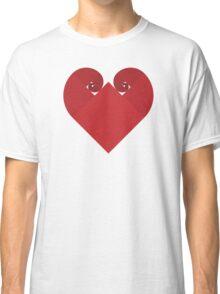 Golden Spiral Heart - No Outline Classic T-Shirt