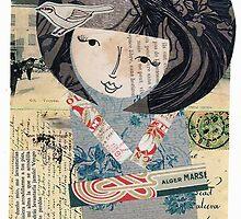 Lovely Japanese Lady by caracarmina