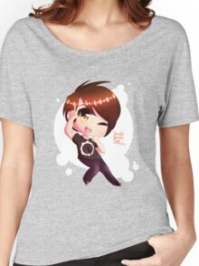 Chibi DanIsNotOnFire Women's Relaxed Fit T-Shirt