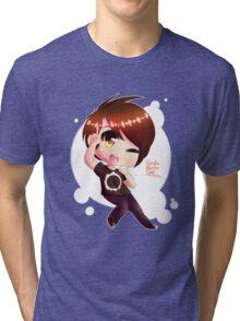 Chibi DanIsNotOnFire Tri-blend T-Shirt
