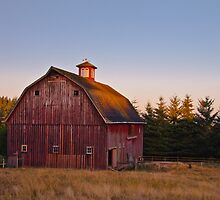 Red with a cupola by Marvin Mast
