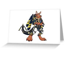 Skip the Kangaroo Greeting Card