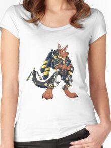 Skip the Kangaroo Women's Fitted Scoop T-Shirt