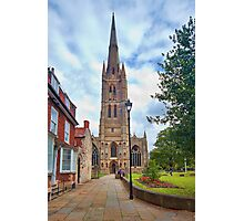 St Wulfram's Church, Grantham. Photographic Print