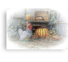 Autumn's Roost Canvas Print