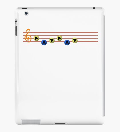 Ocarina Melodies - Song of Time iPad Case/Skin