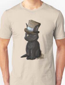 Cat In A Hat Gentleman Kitty Unisex T-Shirt