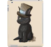 Cat In A Hat Gentleman Kitty iPad Case/Skin