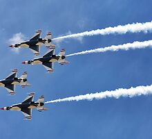 Air Force Thunderbirds by Rachel Jeffrey