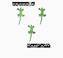 gecko's rampant Womens Fitted T-Shirt