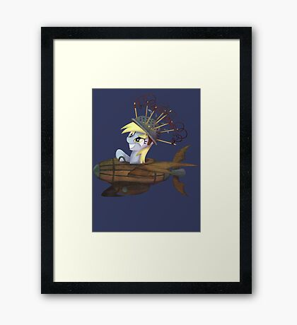 My Little Pony - MLP - Derpy Hooves Framed Print