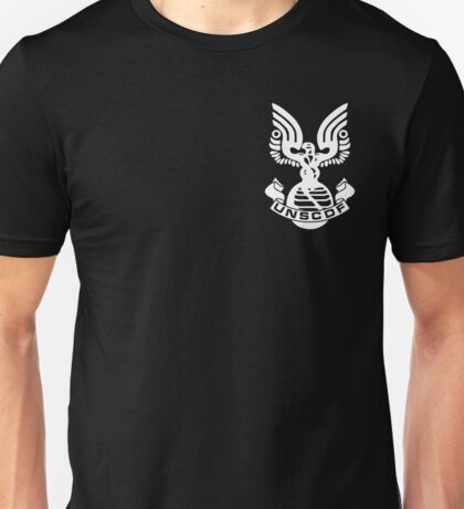 U.N.S.C.D.F. Insignia (White Logo) Unisex T-Shirt