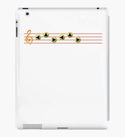 Ocarina Melodies - Zelda's Lullaby iPad Case/Skin