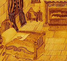 A Bedroom In The Castle by pinkyjainpan