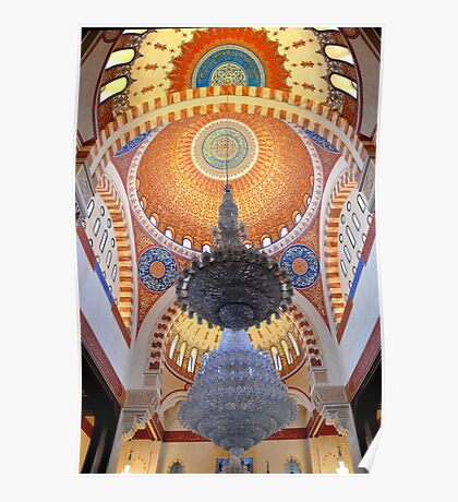 Piety in Domes and Arches Poster