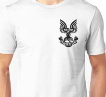 U.N.S.C.D.F. Insignia (Black Logo) Unisex T-Shirt