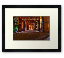 """""""Nautical Storehouse"""" Framed Print"""