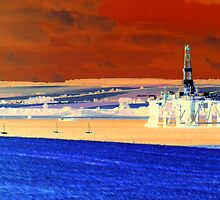 Invergordon Oil Rig by ©The Creative  Minds