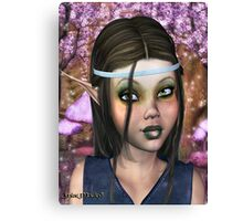 Enchanted Elf Maiden Canvas Print