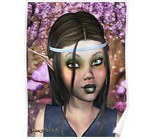 Enchanted Elf Maiden Poster