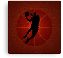 Slam-dunk Contest Canvas Print