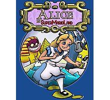 Alice In Super Mario Land Photographic Print