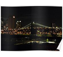BROOKLYN BRIDGE PARK IN DUMBO Poster