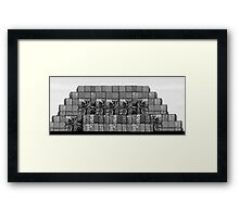 Apartments  'METALLICA'  on Port Avenue Framed Print