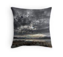 Tekapo Storm Throw Pillow