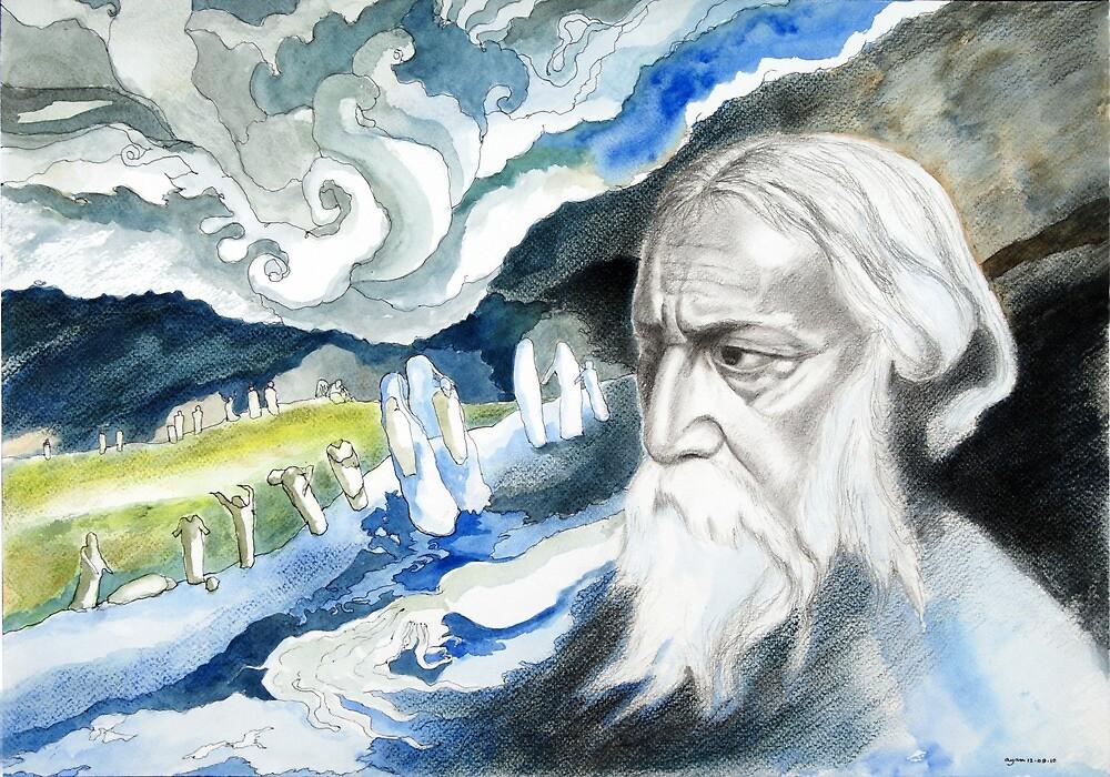 Rabindranath Tagore by Ayan Ghoshal