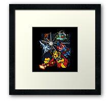 Avengermon! Framed Print