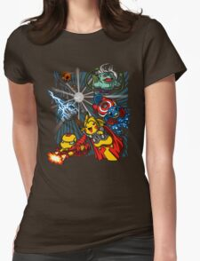 Avengermon! Womens Fitted T-Shirt