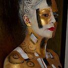 body art klimt girl by alana janesse artist/ makeup artist
