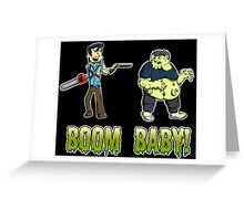 Boom Baby! Greeting Card