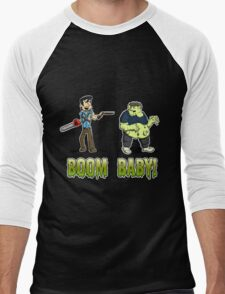 Boom Baby! Men's Baseball ¾ T-Shirt