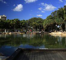 South Bank-Brisbane by Noel Elliot