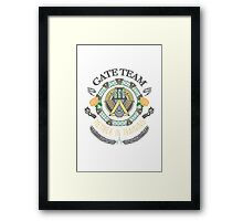 SG1 Gate Team Member In Training Colour Framed Print