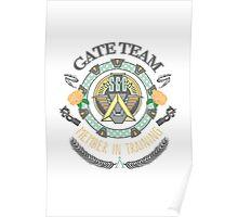 SG1 Gate Team Member In Training Colour Poster
