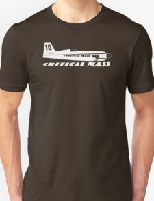 CRITICAL MASS Race 10 Super Sea Fury Reno Air Racer T-Shirt