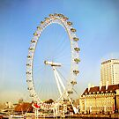 London Eye on a Sunny Winter Day by avee