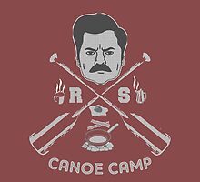 Rons canoe camp by kurticide