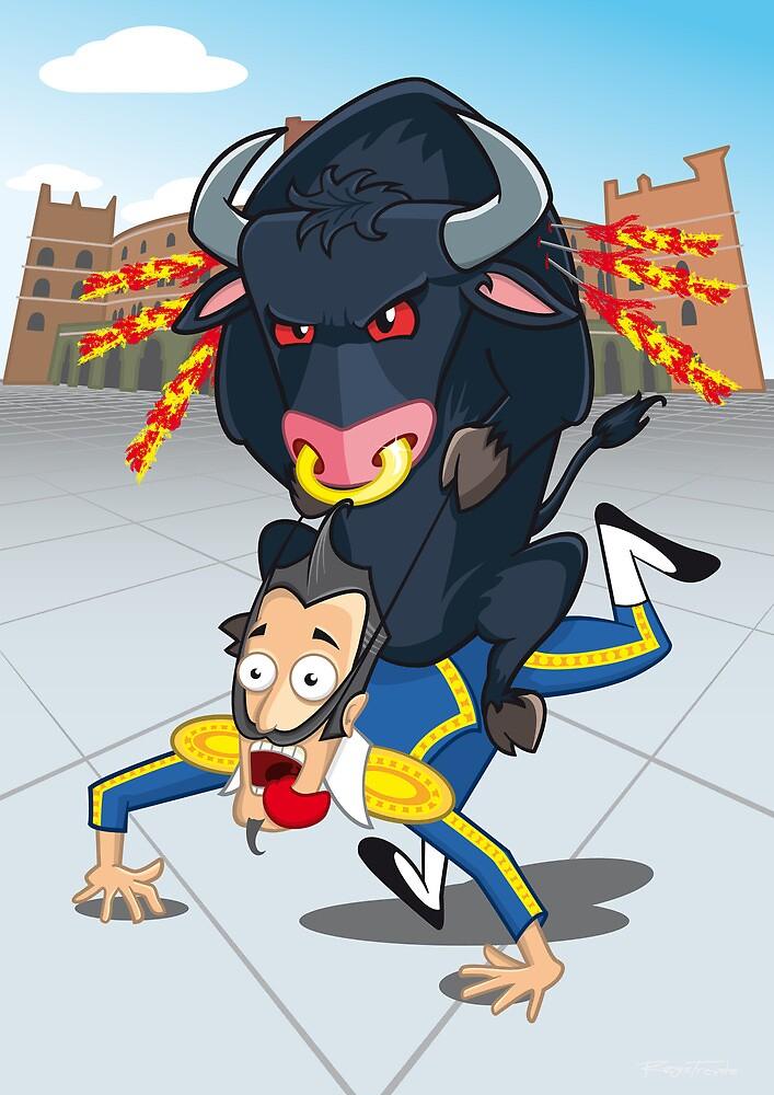 Bullfighter by registrento