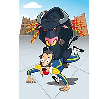Bullfighter Photographic Print